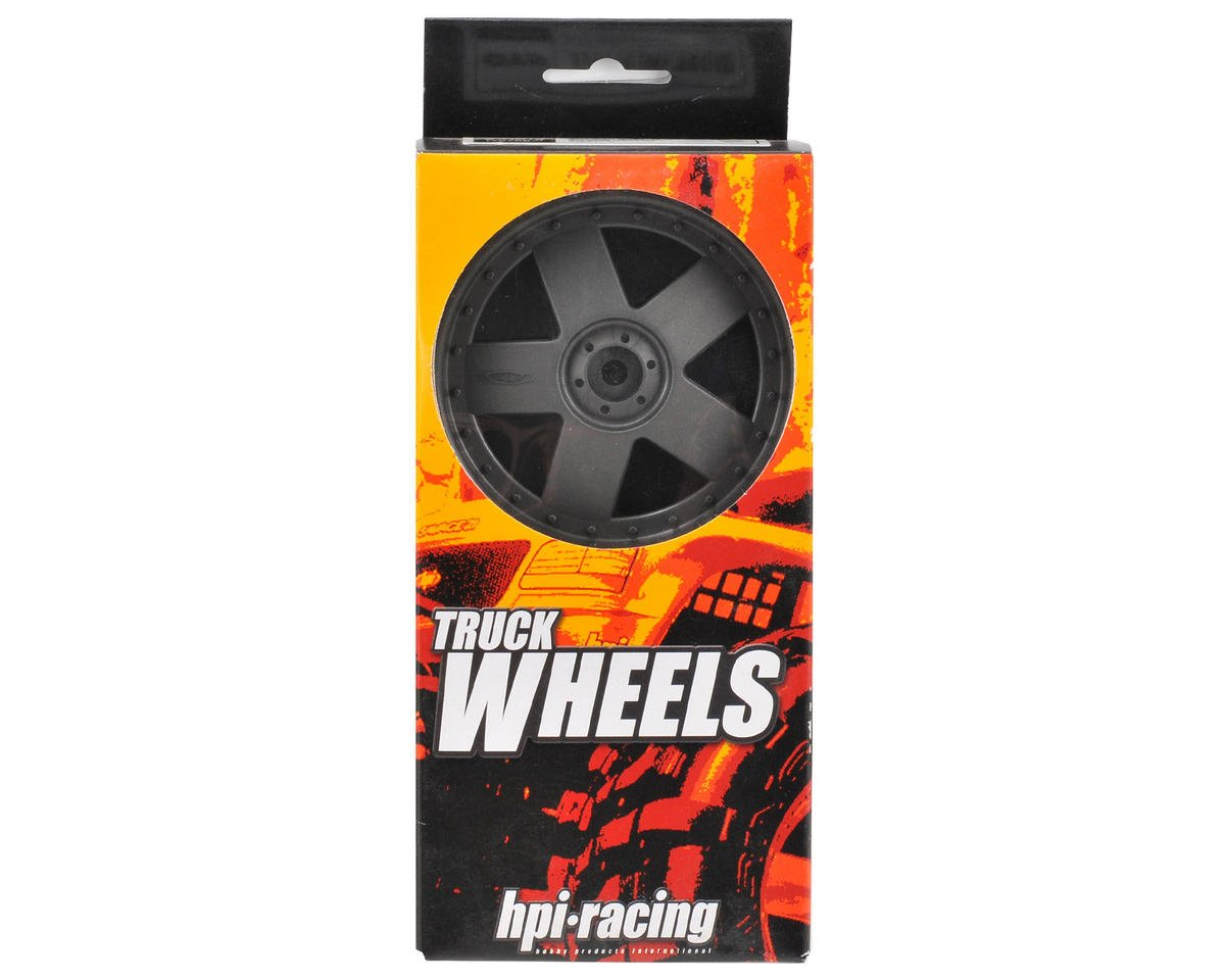 HPI Racing 83x56mm GT5 Monster Truck Wheel (Gray) (2)
