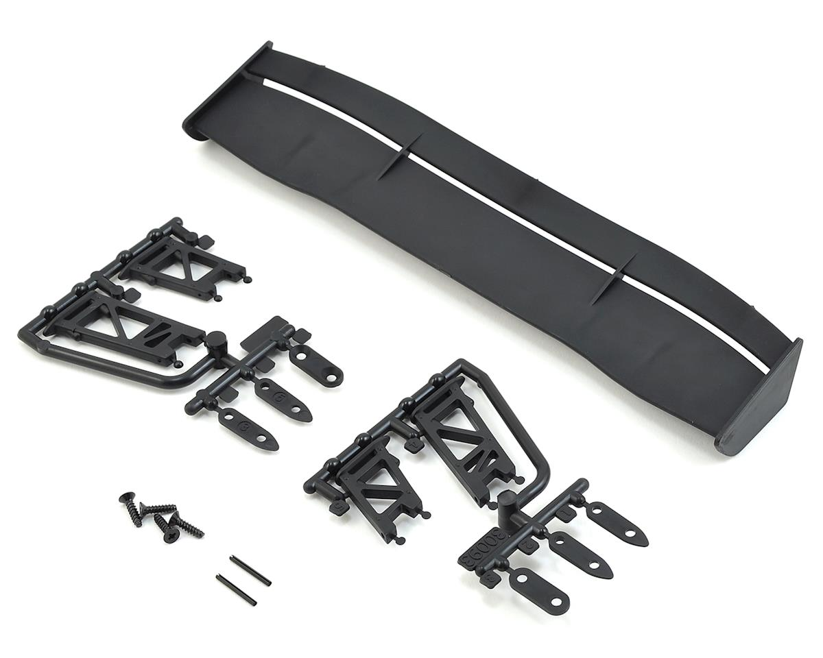 RS4 & E10 GT Wing Set (Black) by HPI