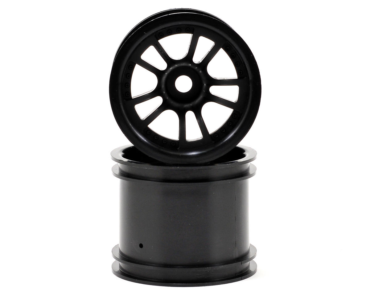"HPI Racing Savage XS Flux Split 5 2.2"" Truck Wheel w/Universal Adapter (2) (Black)"