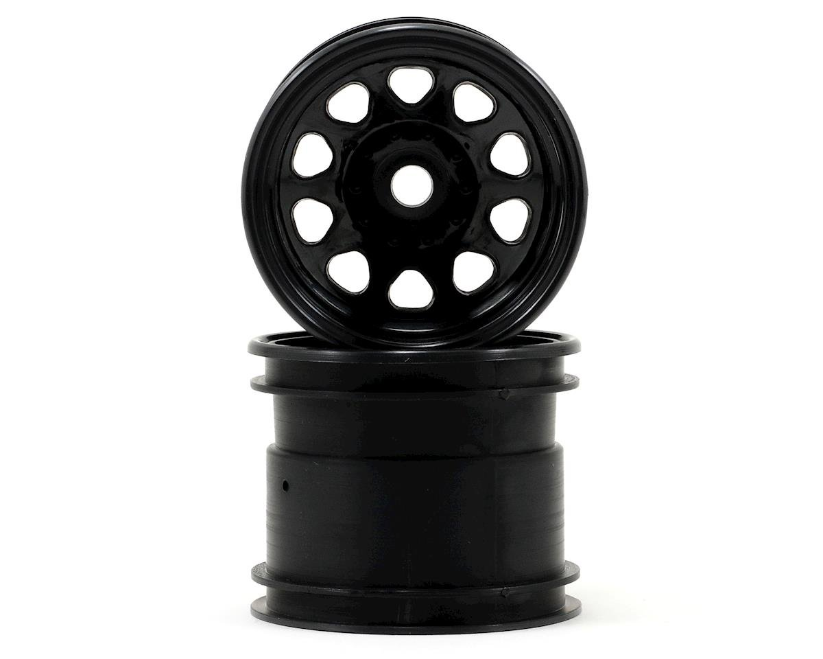 "2.2"" Classic King Truck Wheel (Black) (2) by HPI Nitro Firestorm 10T"