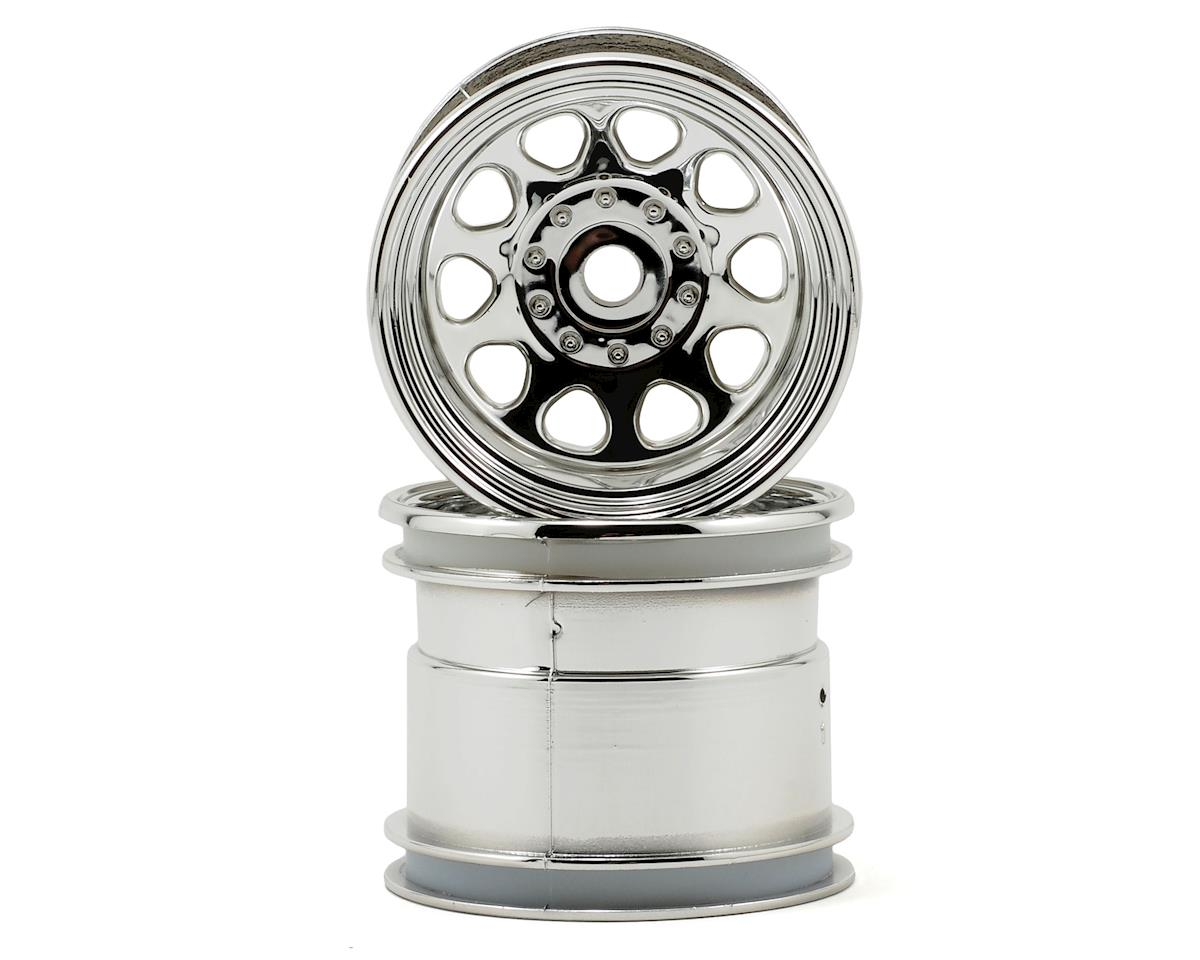 "HPI Racing Wheely King 12mm Hex Classic 2.2"" Wheel (2) (Chrome)"