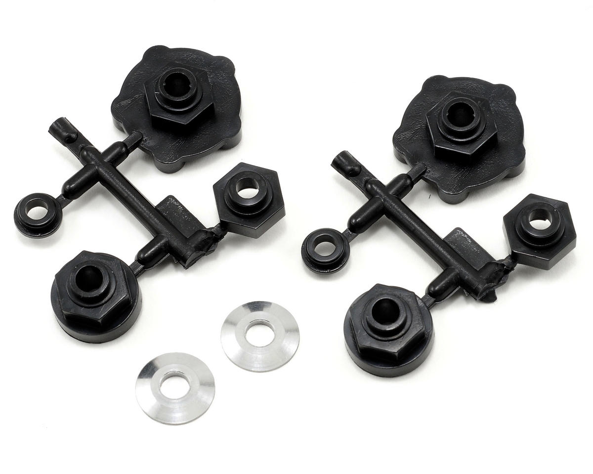 "HPI Racing Spike 2.2"" Truck Wheels w/Universal Adapter (2) (Black)"