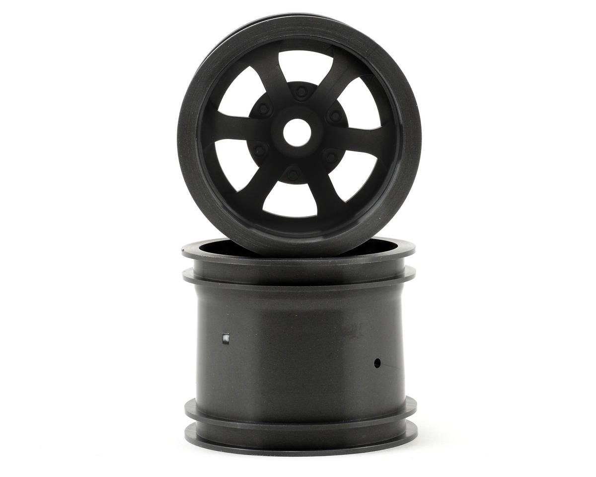 "HPI Scorch 6-Spoke 2.2"" Truck Wheels w/Universal Adapter (2) (Gun Metal)"