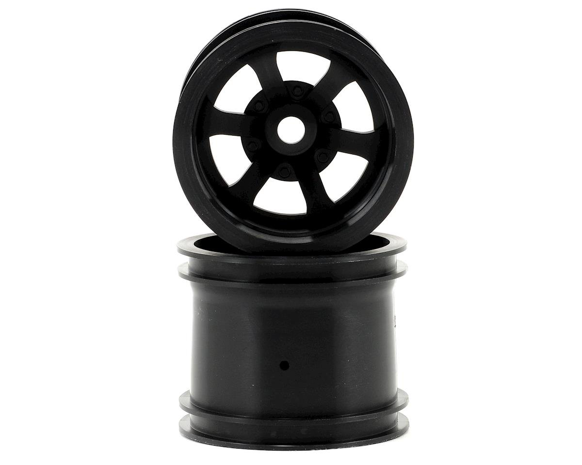 "HPI Racing Savage XS Flux Scorch 6-Spoke 2.2"" Truck Wheels w/Universal Adapter (2) (Black)"