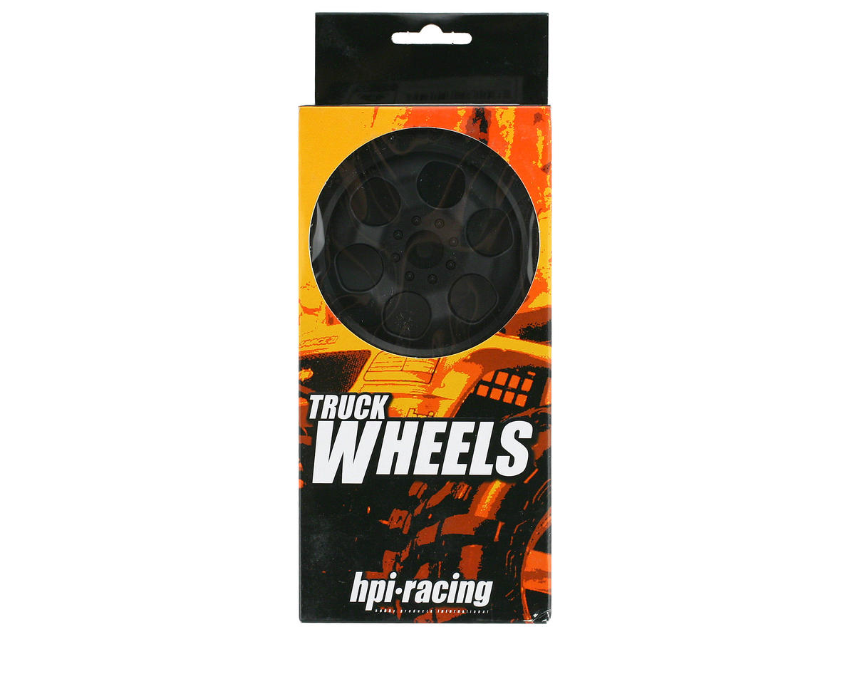 HPI Racing 6-Spoke Wheel (2) (Savage X) (Black)