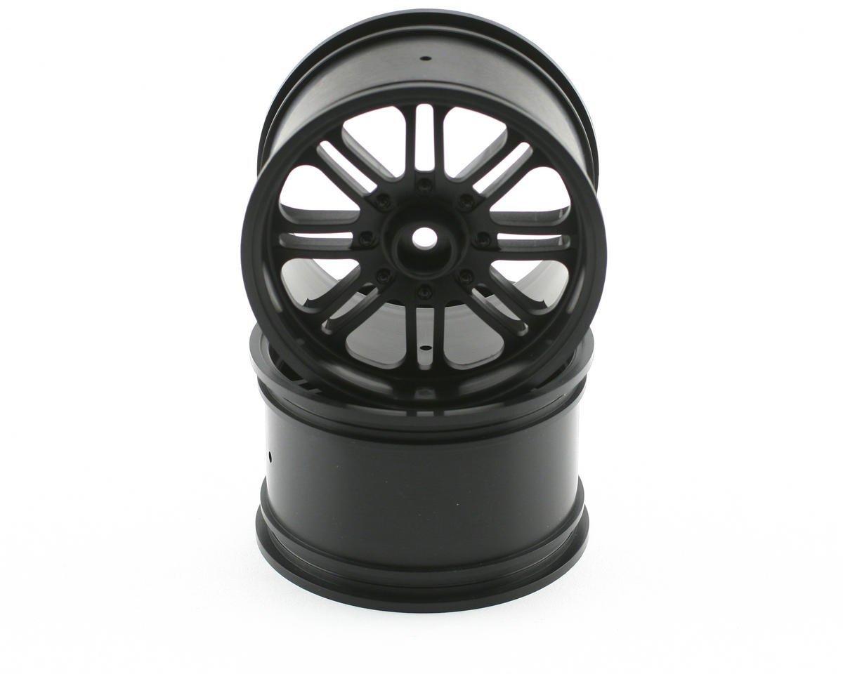 HPI Racing 8-Spoke Wheel (2) (Savage X) (Black)