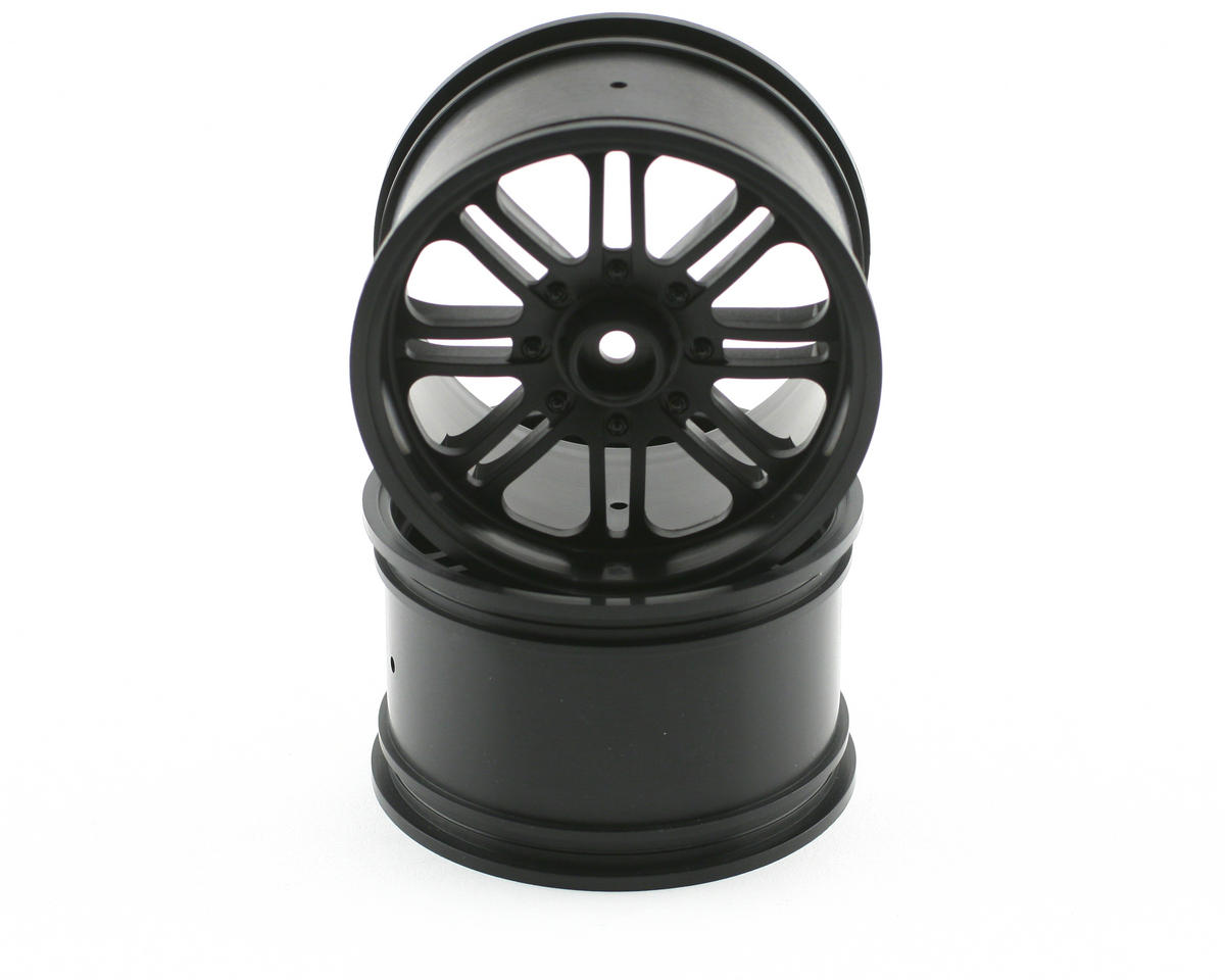 8-Spoke Wheel (2) (Savage X) (Black) by HPI