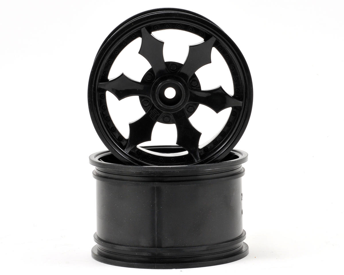 HPI Racing Spike Monster Truck Wheel (2) (Black)