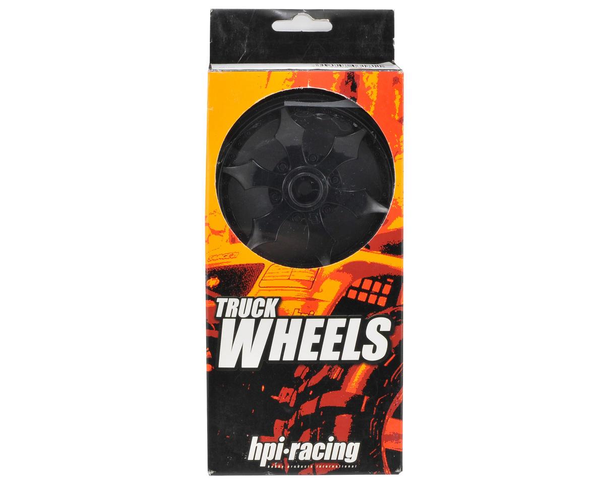 HPI Spike Monster Truck Wheel (2) (Black)