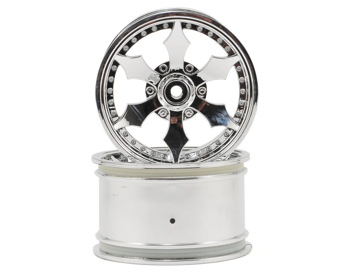 HPI Racing Spike Monster Truck Wheel (Chrome) (2)