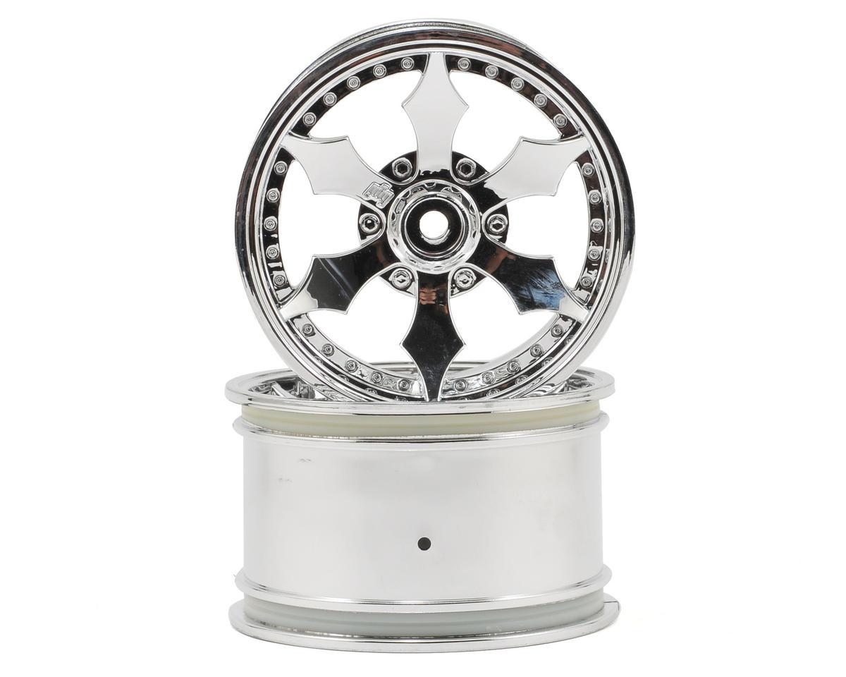 HPI Racing Spike Monster Truck Wheel (Chrome) (2)