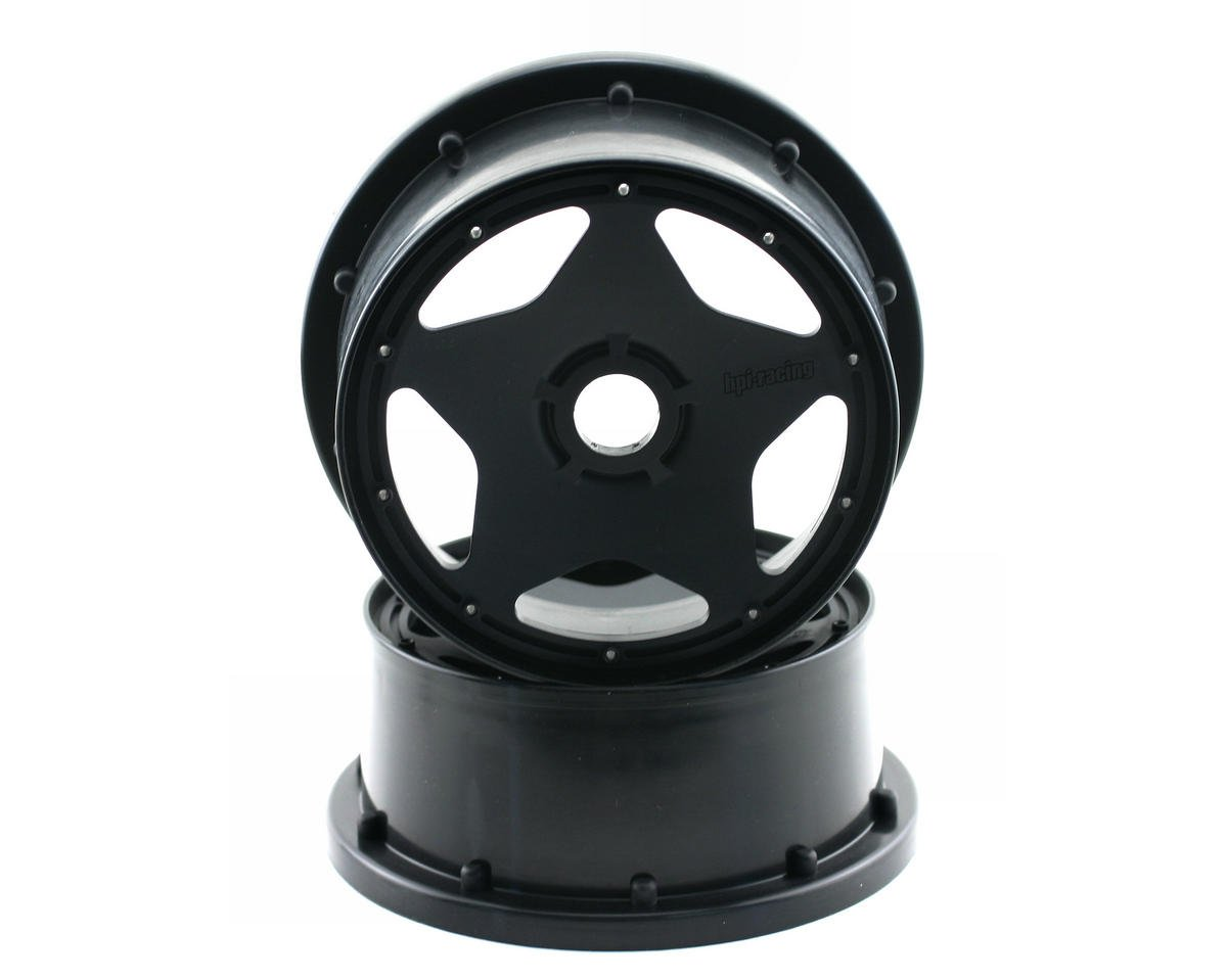 HPI Baja 5R 5B Super Star Front Wheel (120x60mm) (Black)