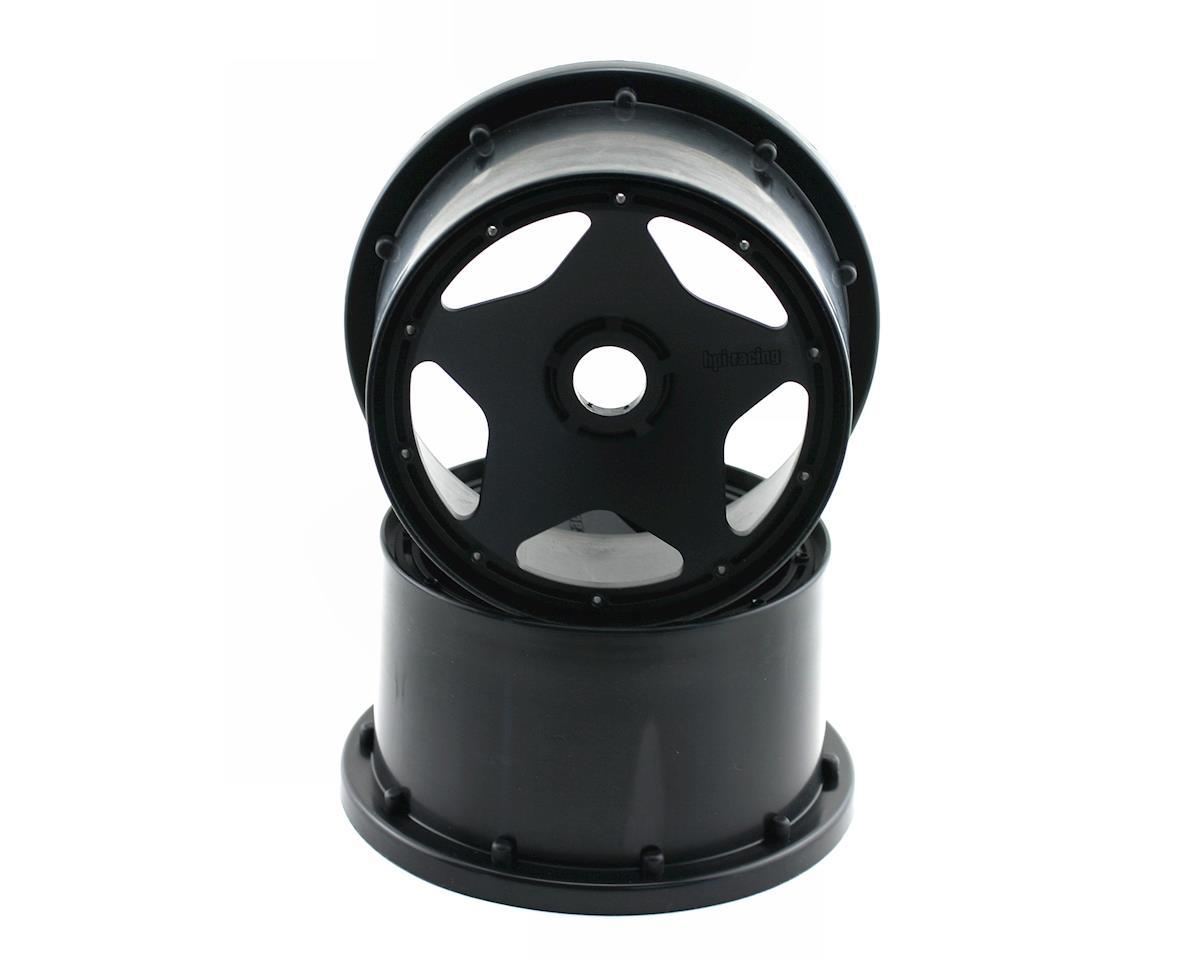 Super Star Wheel (120x75mm) (Baja 5B) (Black) by HPI Baja Kraken TSK-B
