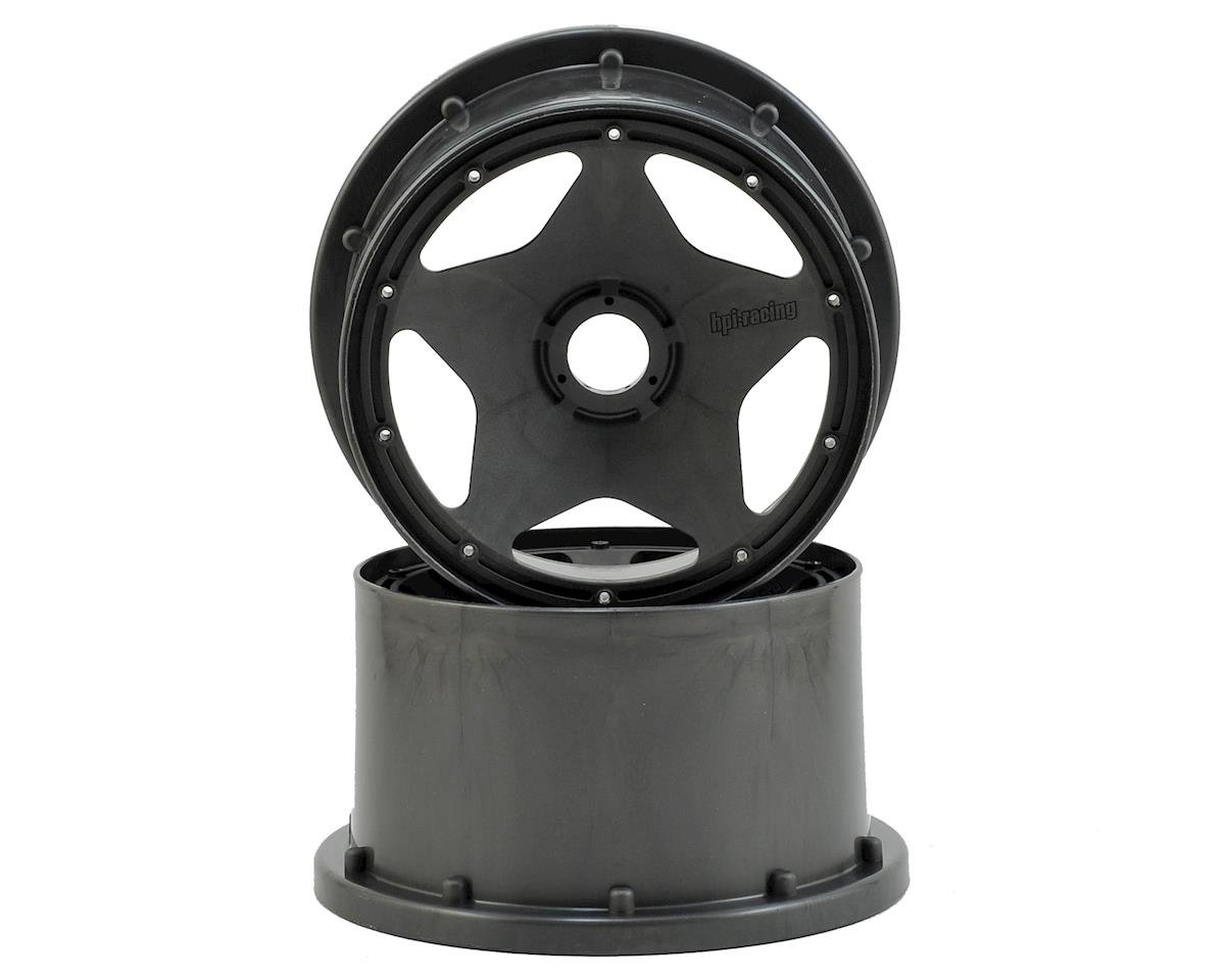 Baja 5B Super Star Rear Wheel (Gunmetal) (2) by HPI