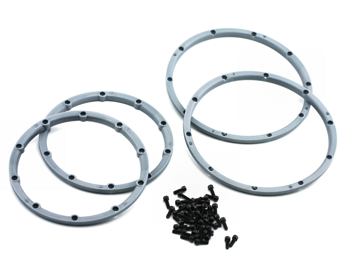 HPI Racing Wheel Beadlock Rings (Silver) (2) (Baja 5B)