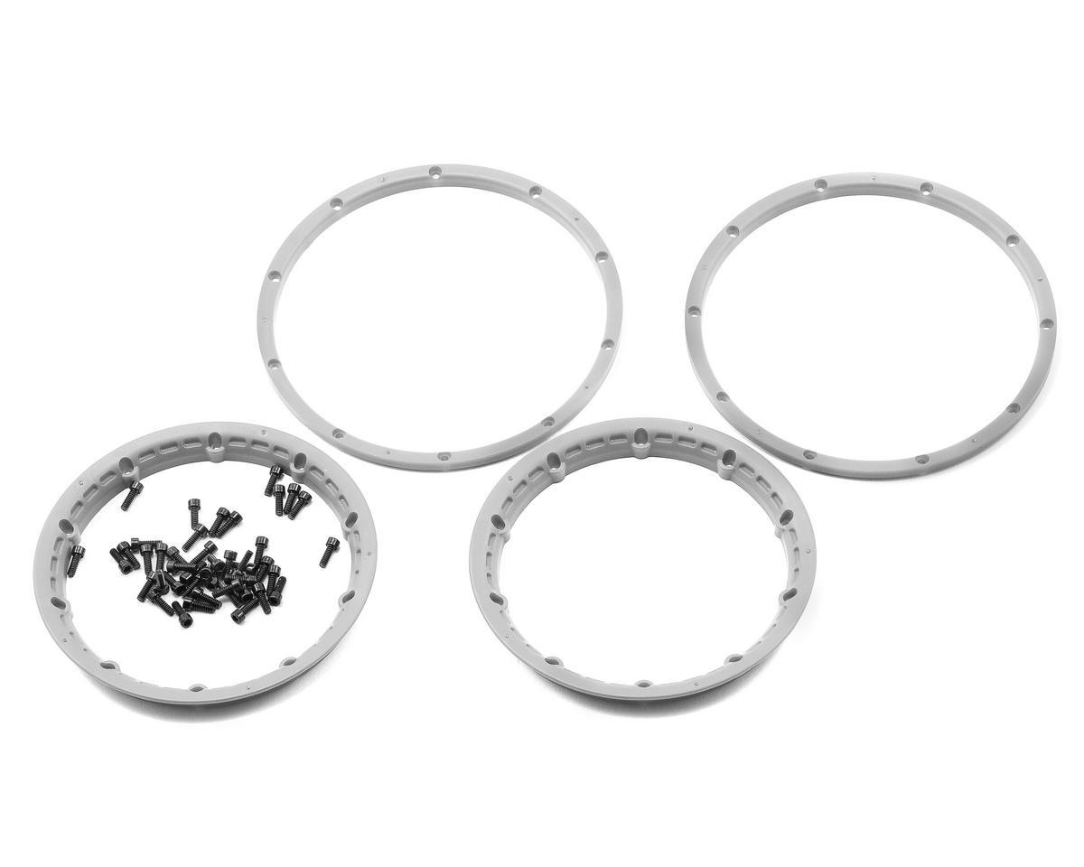 HPI Racing Wheel Beadlock Rings (Silver) (2) (Baja 5B)