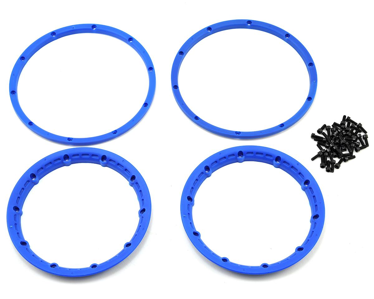 HPI Wheel Beadlock Rings (Blue) (2) (Baja 5B)