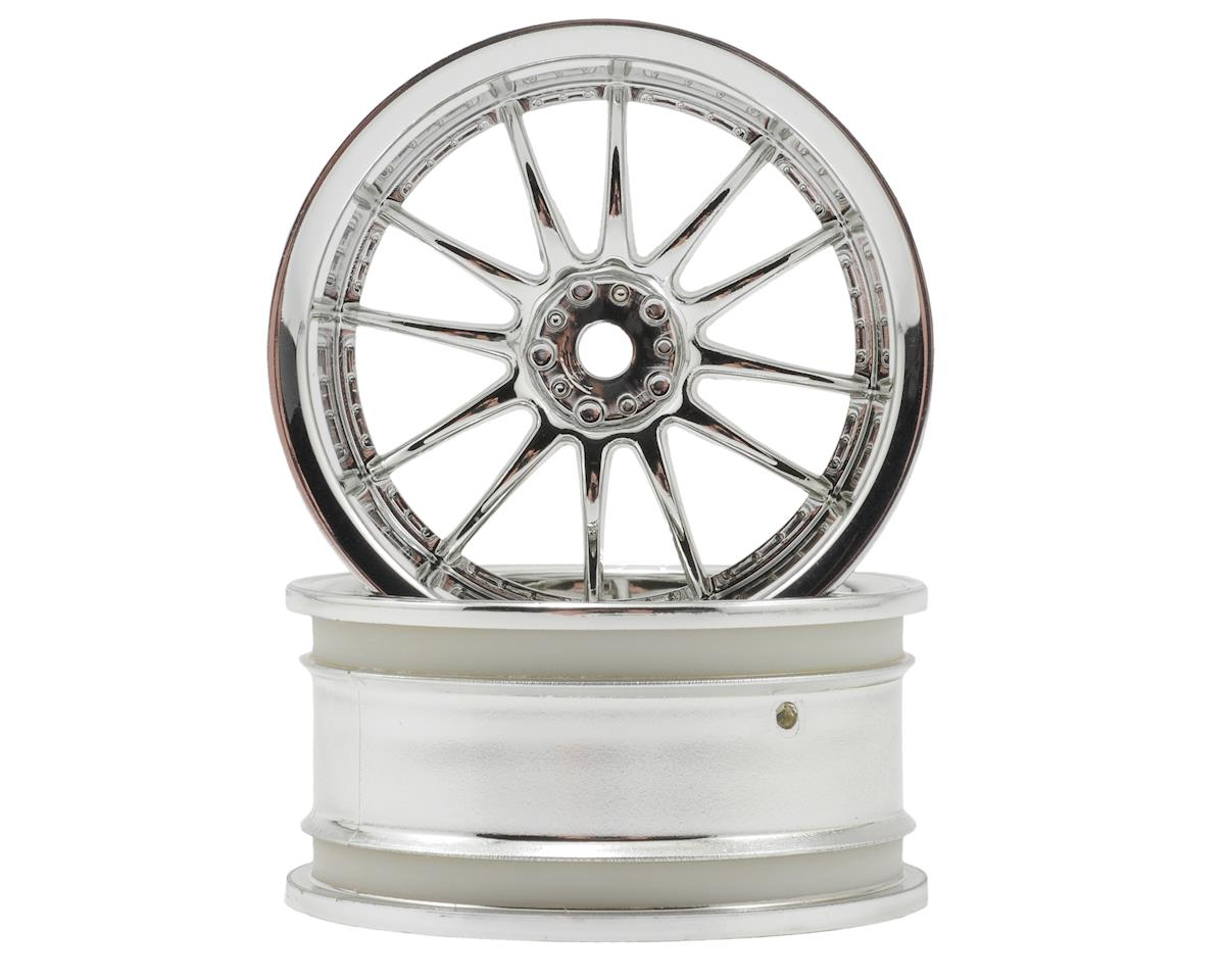 "HPI Racing 26mm ""Work XSA 02 C"" Wheel (2) (6mm Offset) (Chrome)"