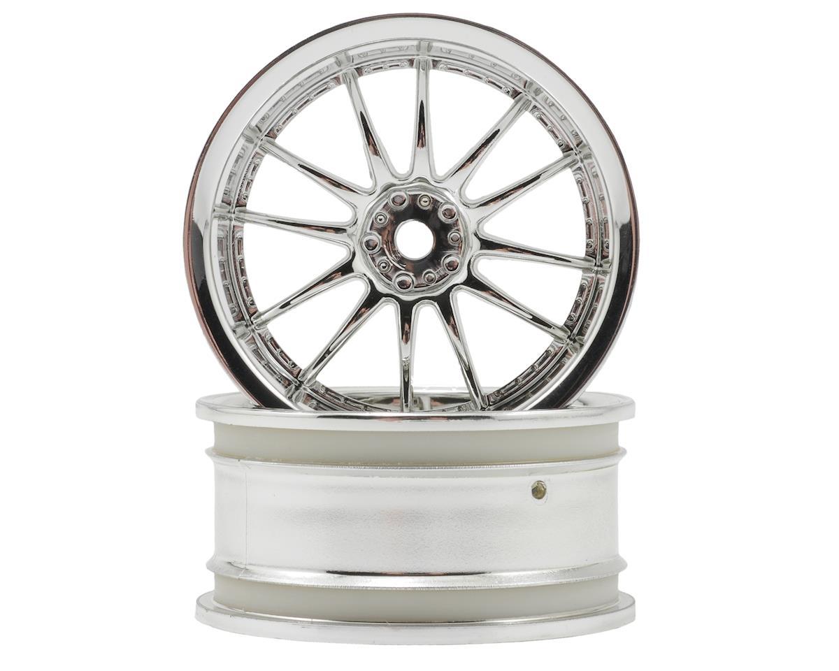 "HPI Racing 26mm ""Work XSA 02 C"" Wheel (2) (6mm Offset) (Chrome)"
