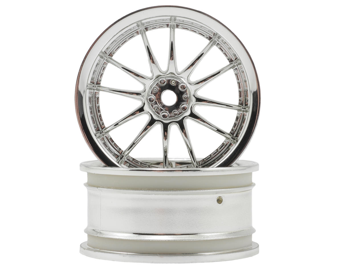 "HPI Racing 26mm ""Work XSA 02 C"" Wheel (2) (9mm Offset) (Chrome)"