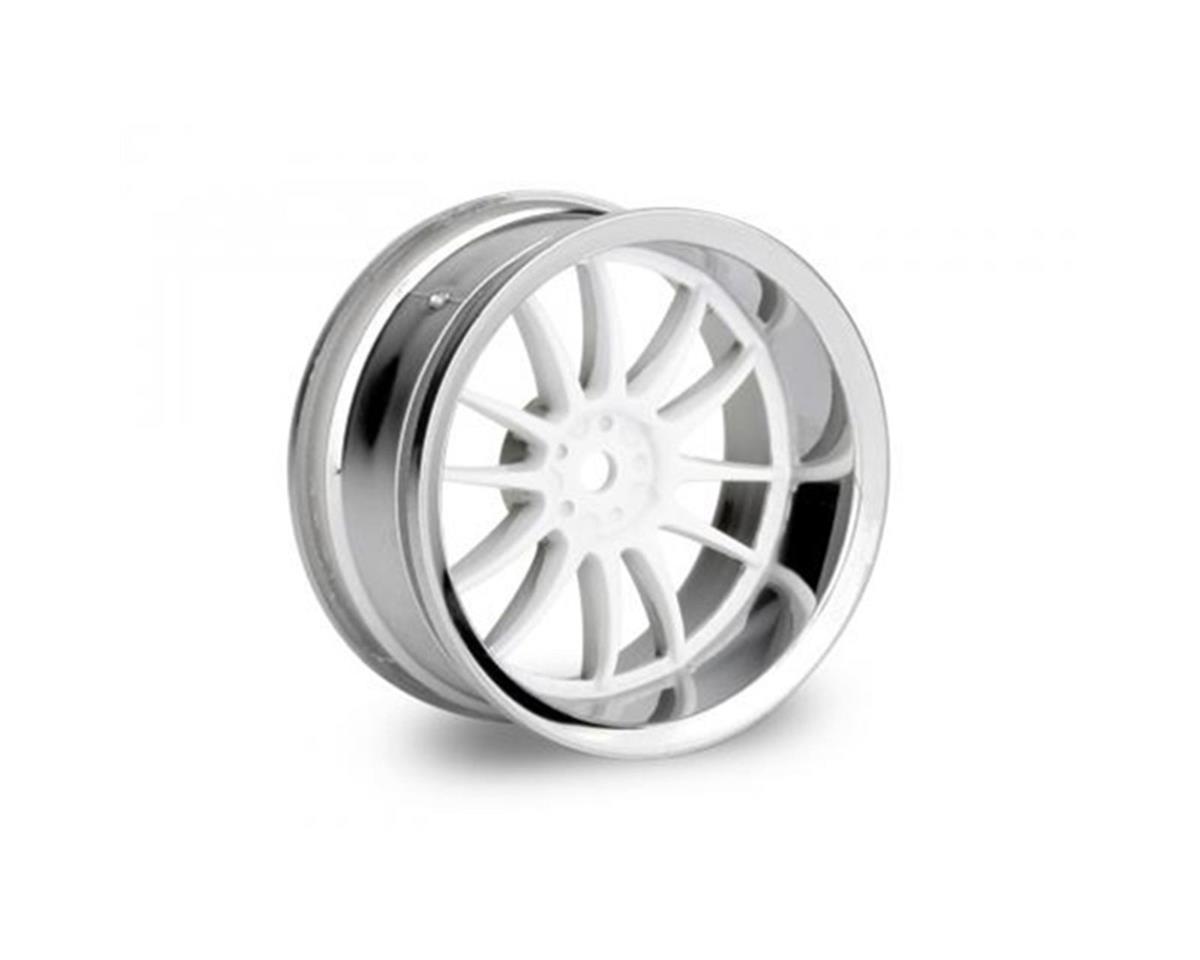 HPI Work XSA Wheel 26mm White Chrome (2) (6mm Offset)