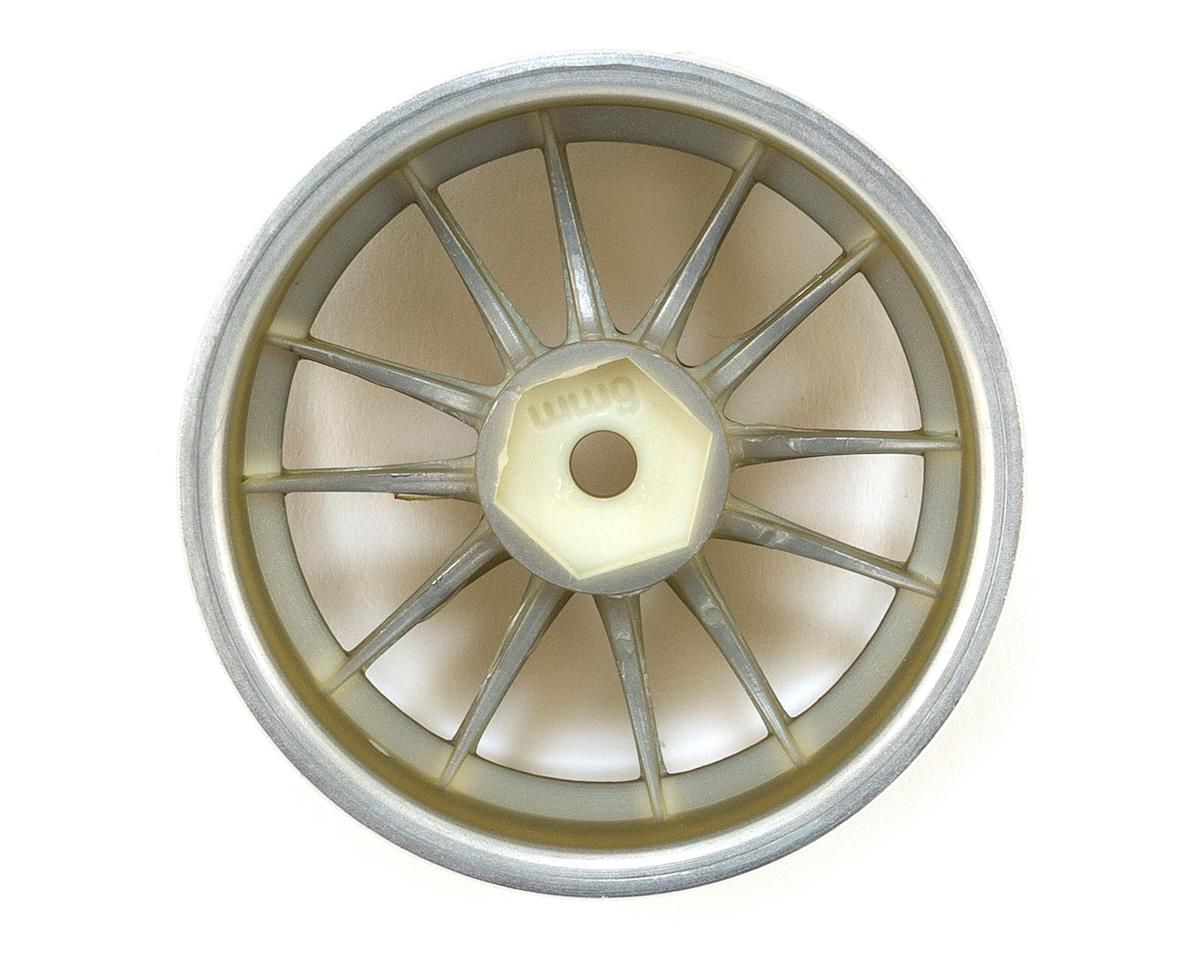Work XSA 02C 26mm Wheel (Chrome/Gold) (2) (6mm Offset) by HPI