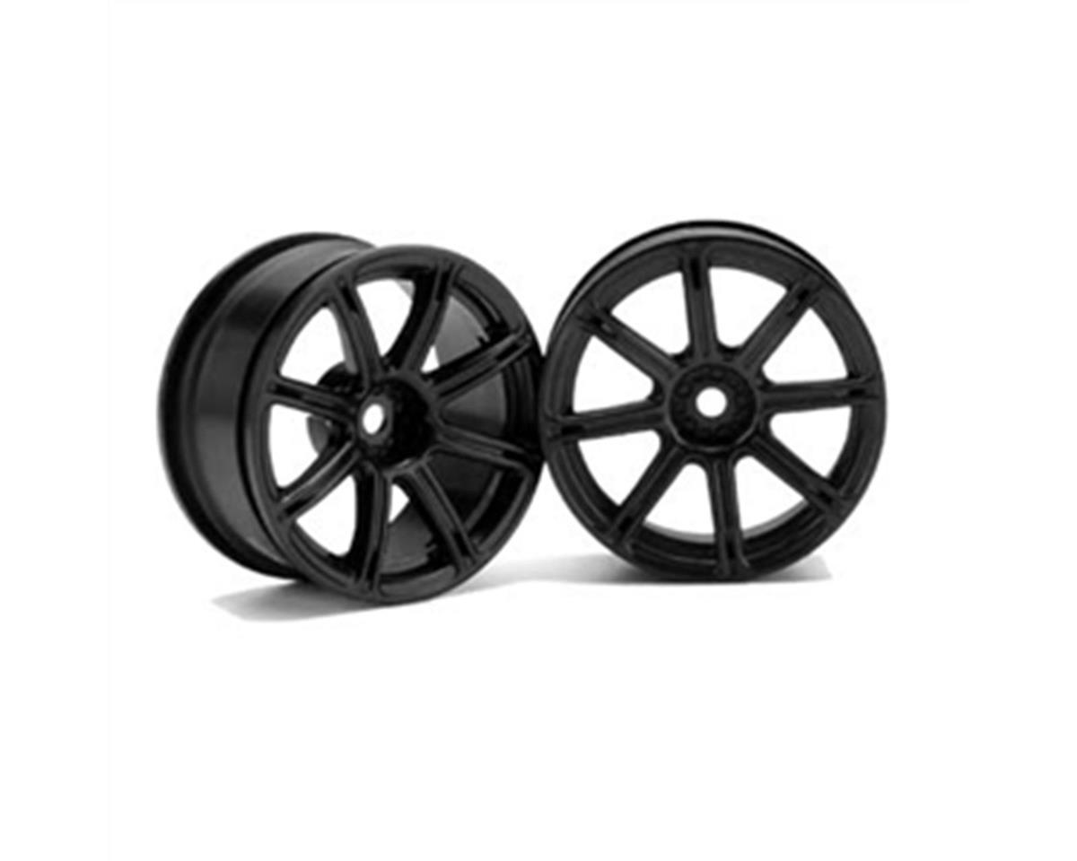 HPI Work XC8 26mm Wheel, White 3mm Offset (2):RS4