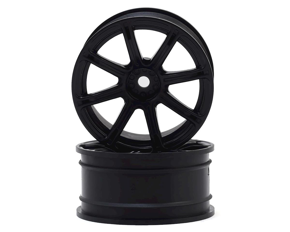 HPI 12mm Hex 26mm Work XC8 TC Wheel (Black) (2) (6mm Offset)