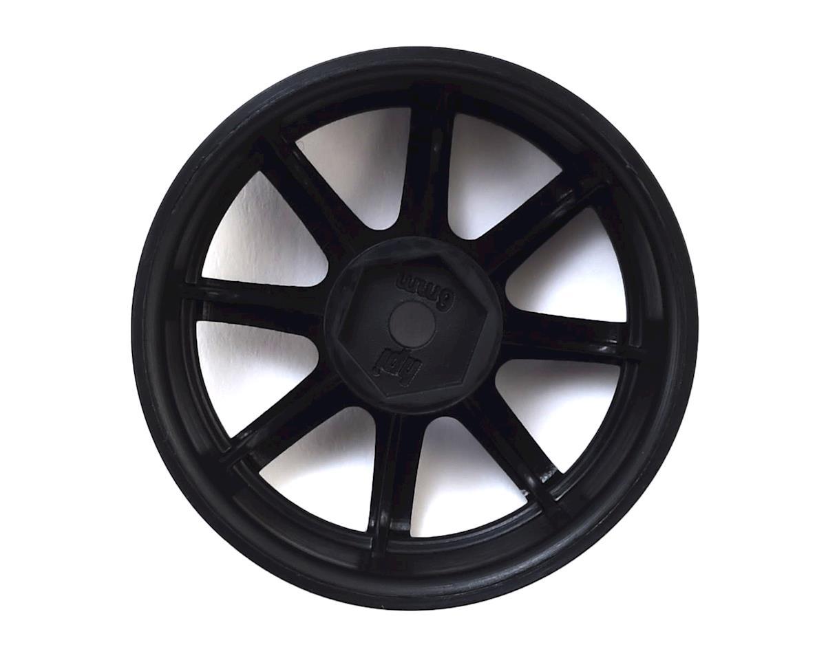 12mm Hex 26mm Work XC8 TC Wheel (Black) (2) (6mm Offset) by HPI