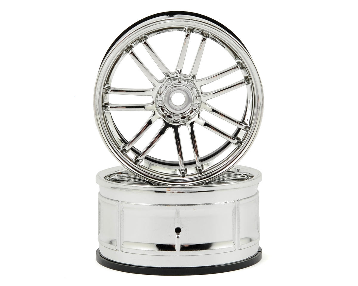 HPI Racing LP29 Rays VolkRacing RE30 Wheels (2) (3mm Offset) (Chrome)