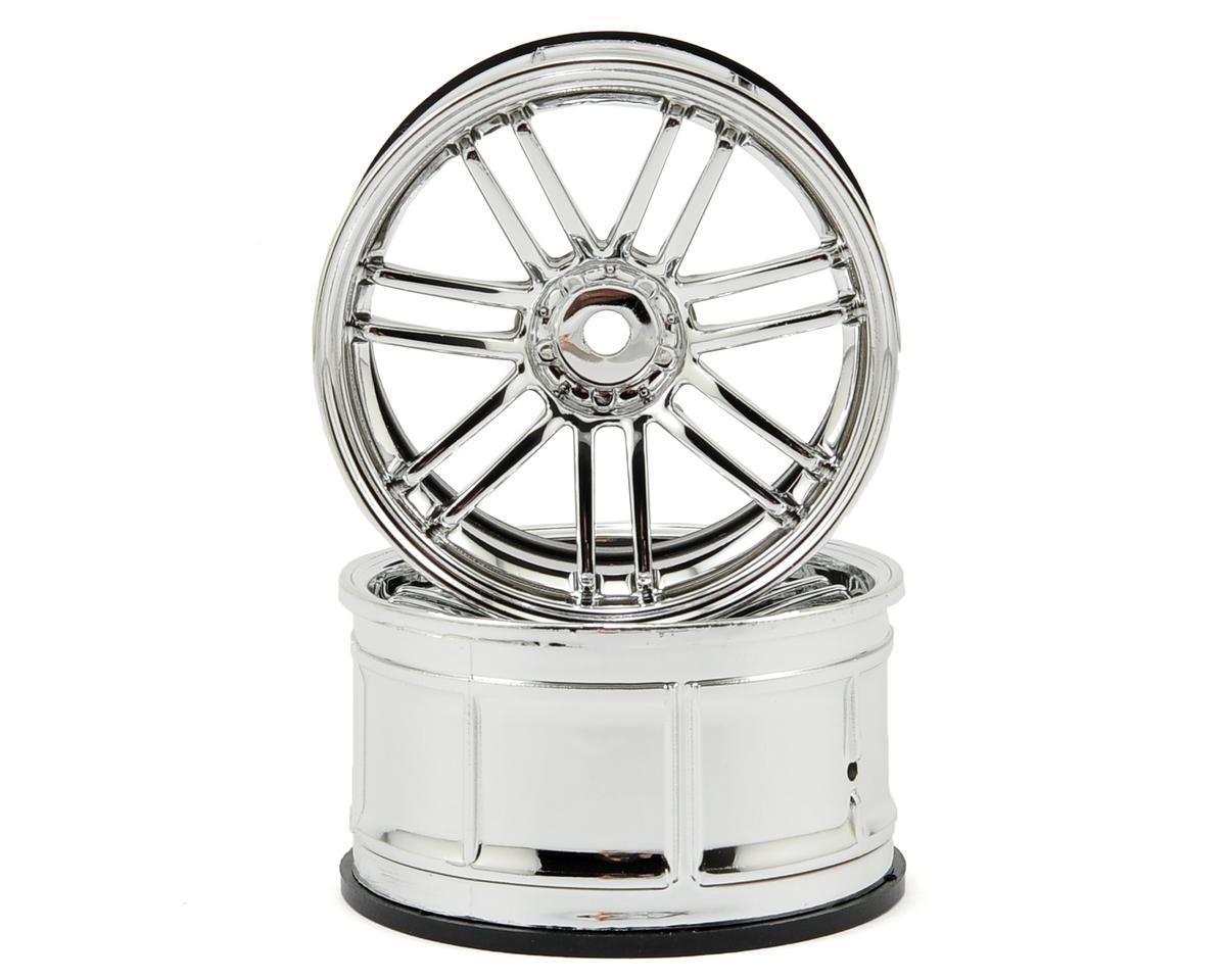 HPI Racing 12mm Hex LP32 Rays VolkRacing RE30 Wheels (2) (6mm Offset) (Chrome)