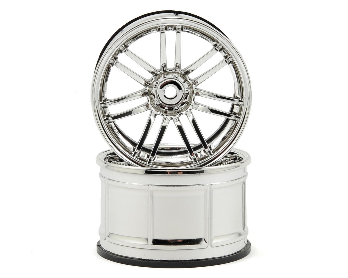 HPI Racing LP35 Rays VolkRacing RE30 Wheels (2) (9mm Offset) (Chrome)