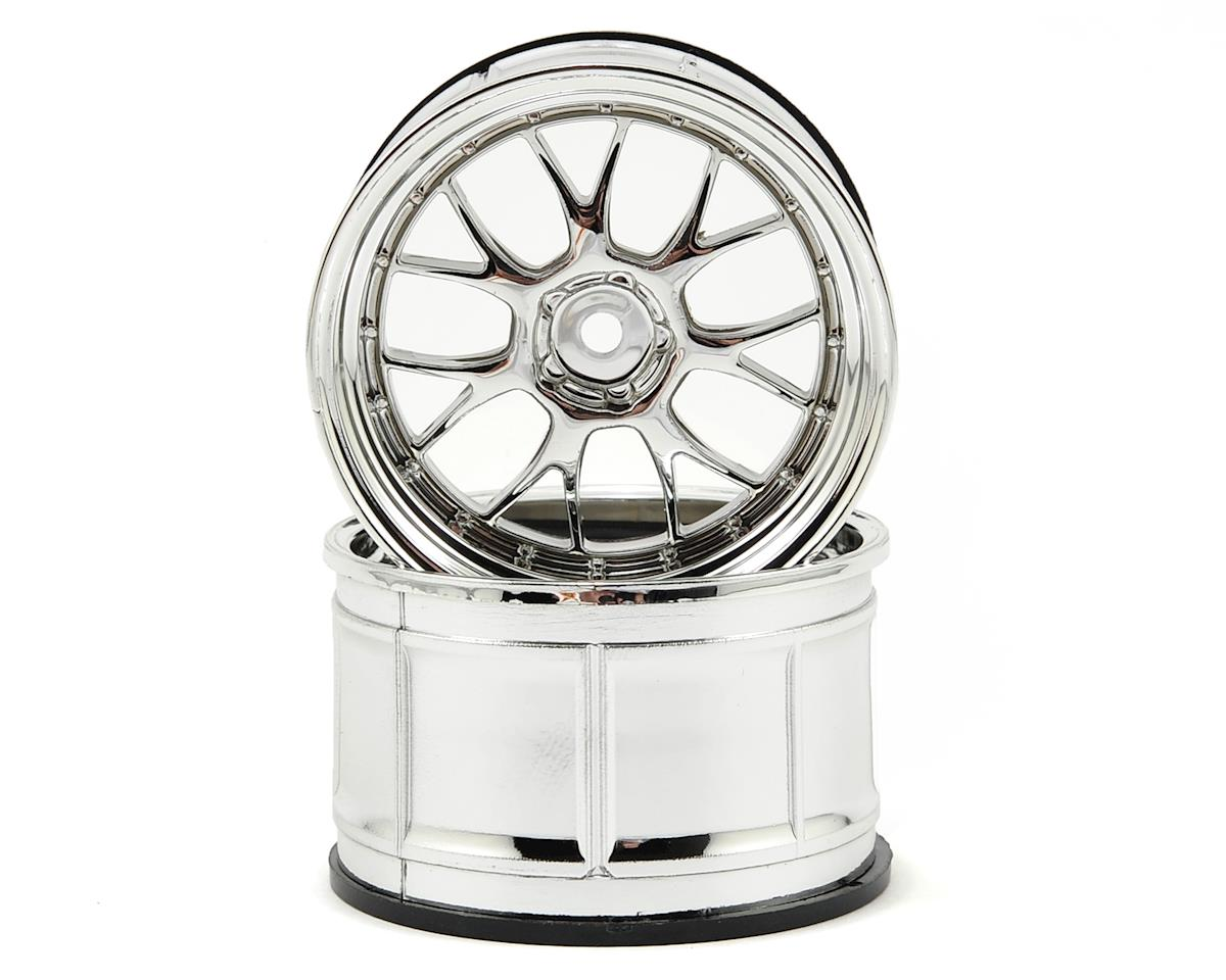 HPI Racing LP35 LM-R Wheels (2) (9mm Offset) (Chrome)