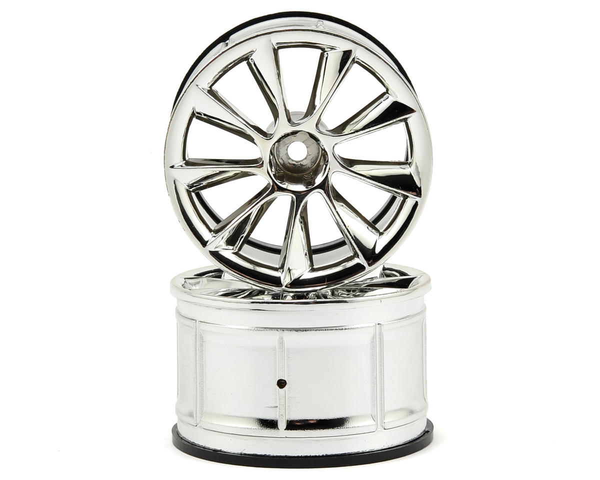 HPI Racing LP35 ATG RS8 Wheels (2) (9mm Offset) (Chrome)