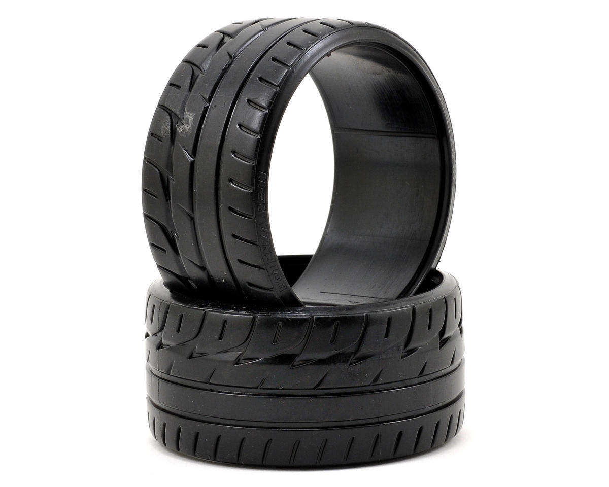 "HPI Racing ""Bridgestone Potenza RE-11"" T-Drift Tire (2) (LP32)"