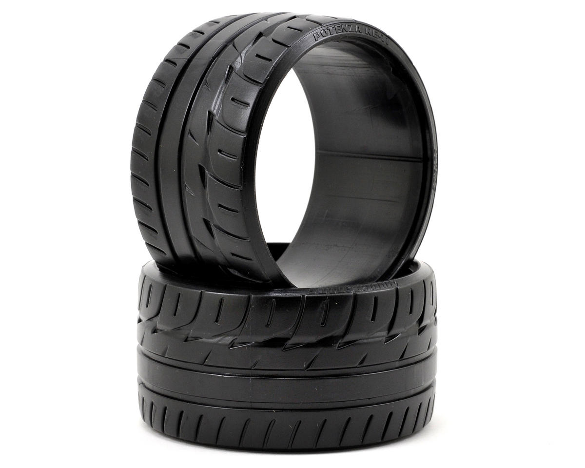 """Bridgestone Potenza RE-11"" T-Drift Tire (2) (LP35) by HPI"