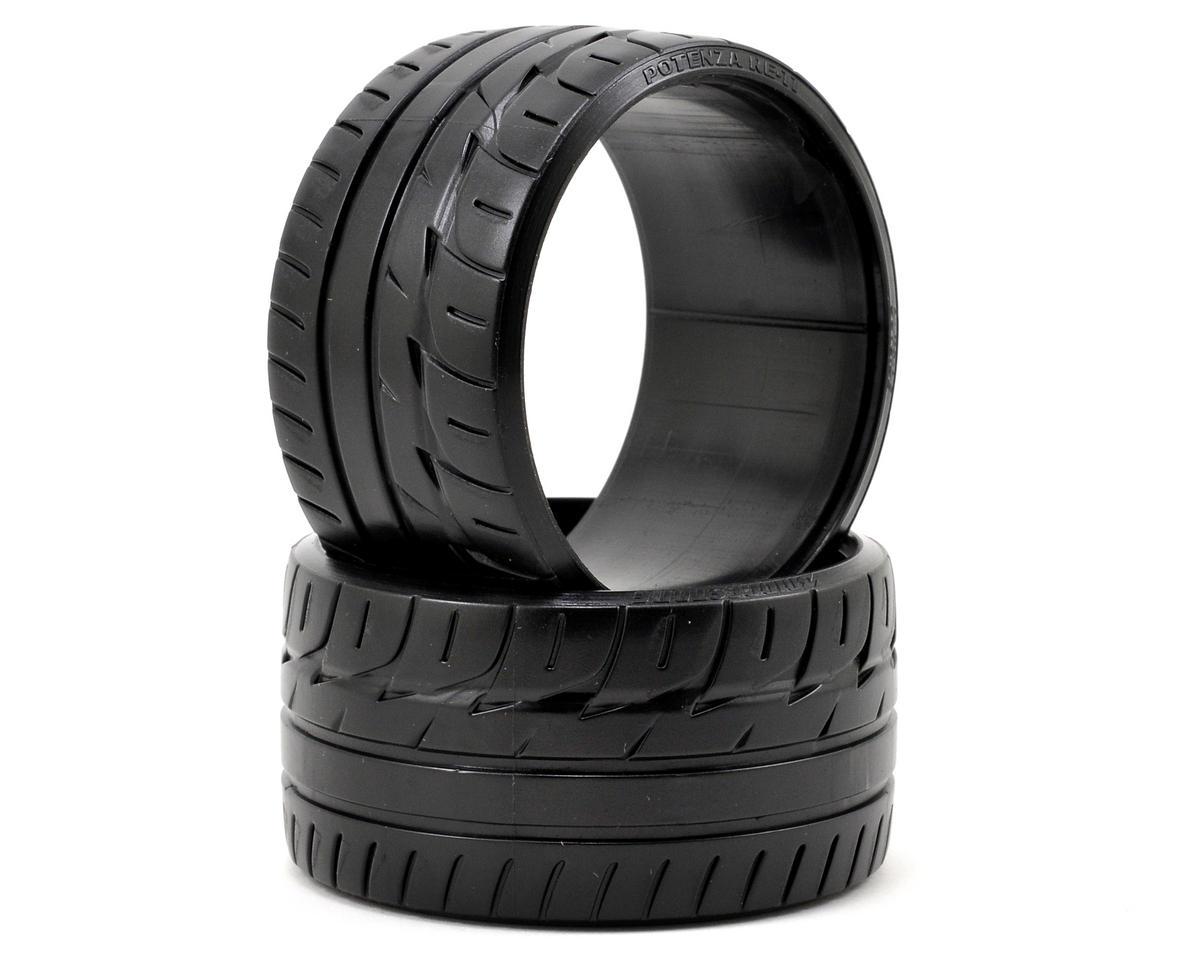 "HPI ""Bridgestone Potenza RE-11"" T-Drift Tire (2) (LP35)"
