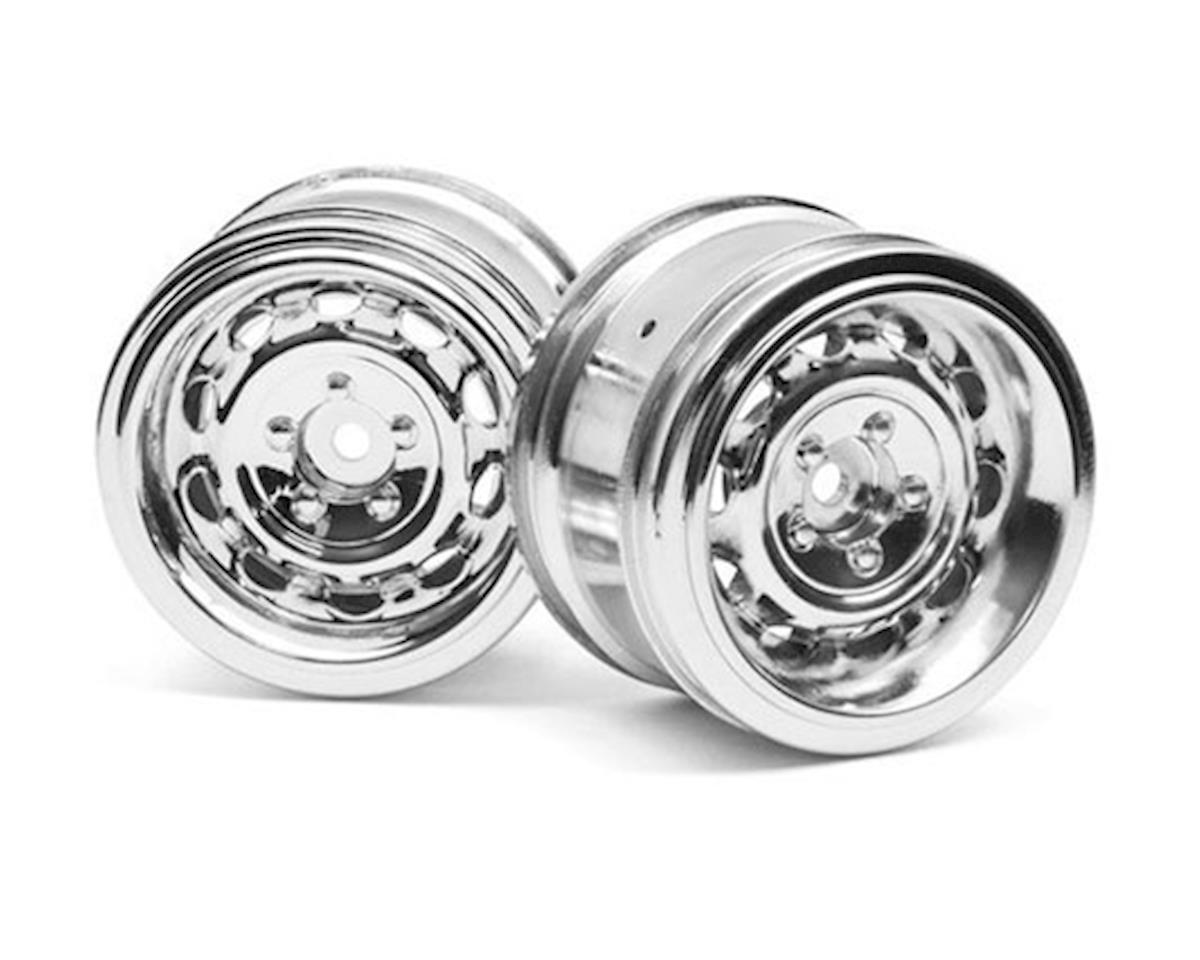 HPI 31mm Vintage CC Wheel (Chrome) (2) (0mm Offset)