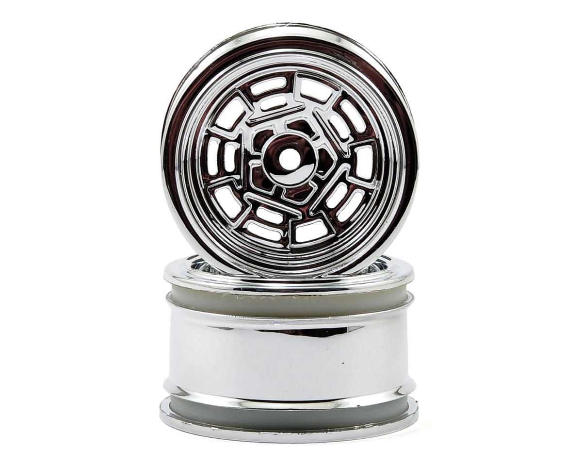 HPI Racing 31mm Vintage DTP Wheel (Chrome) (2) (6mm Offset)