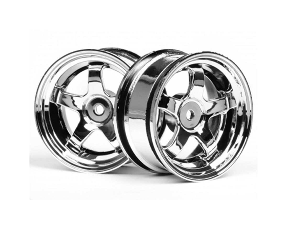 Work Meister Wheel (3mmOffset),Chrome by HPI