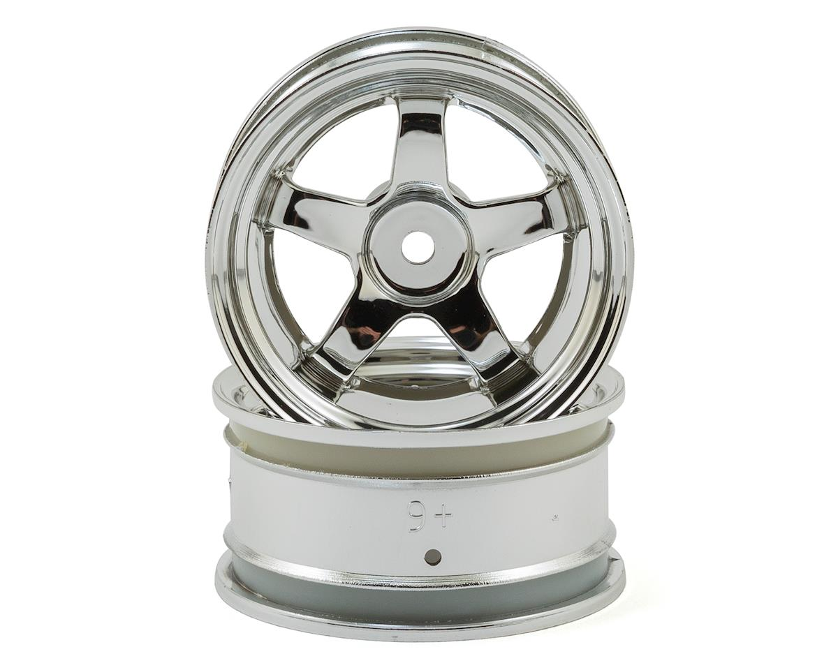 HPI Nitro RS4 3 Drift Work Meister S1 26mm Wheel (Chrome) (2) (6mm Offset)