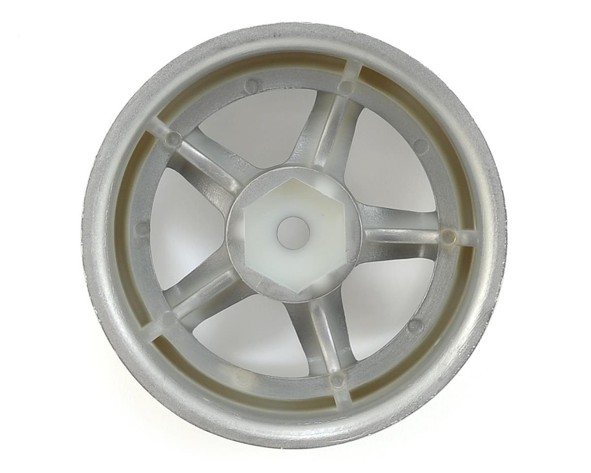 HPI 12mm Hex 26mm Work Meister S1 Wheel (Chrome) (2) (9mm Offset)