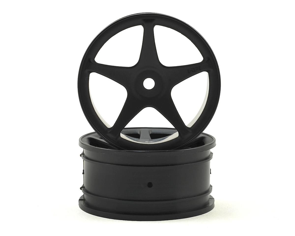 HPI Nitro RS4 3 Drift Super Star Tour 26mm Wheel (Black) (2) (1mm Offset)
