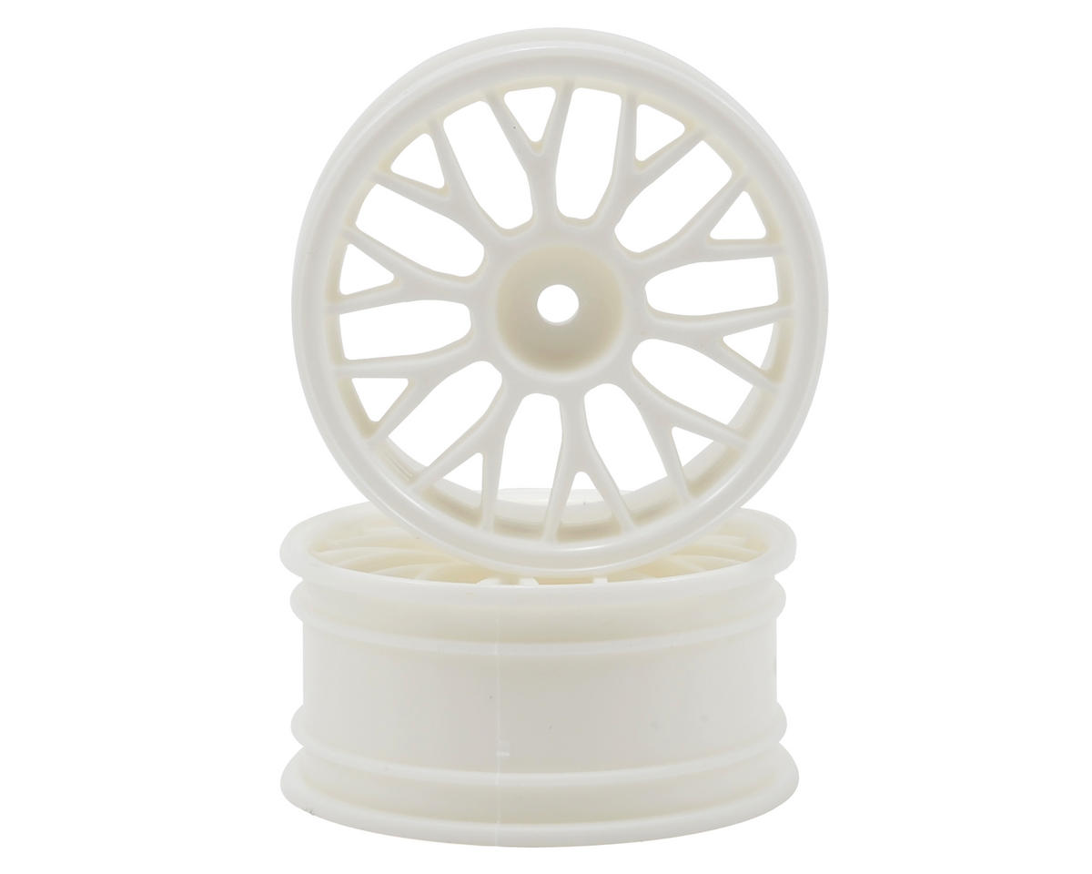 HPI Racing 26mm Mesh Wheel (White) (2) (3mm Offset)