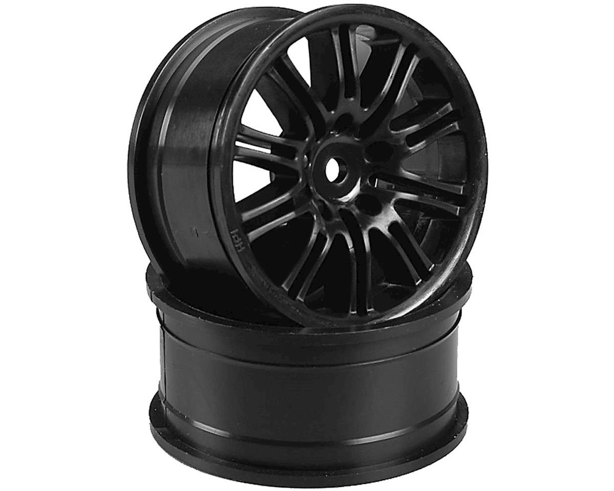 HPI 10-Spoke Sport Whl,26mm,Black