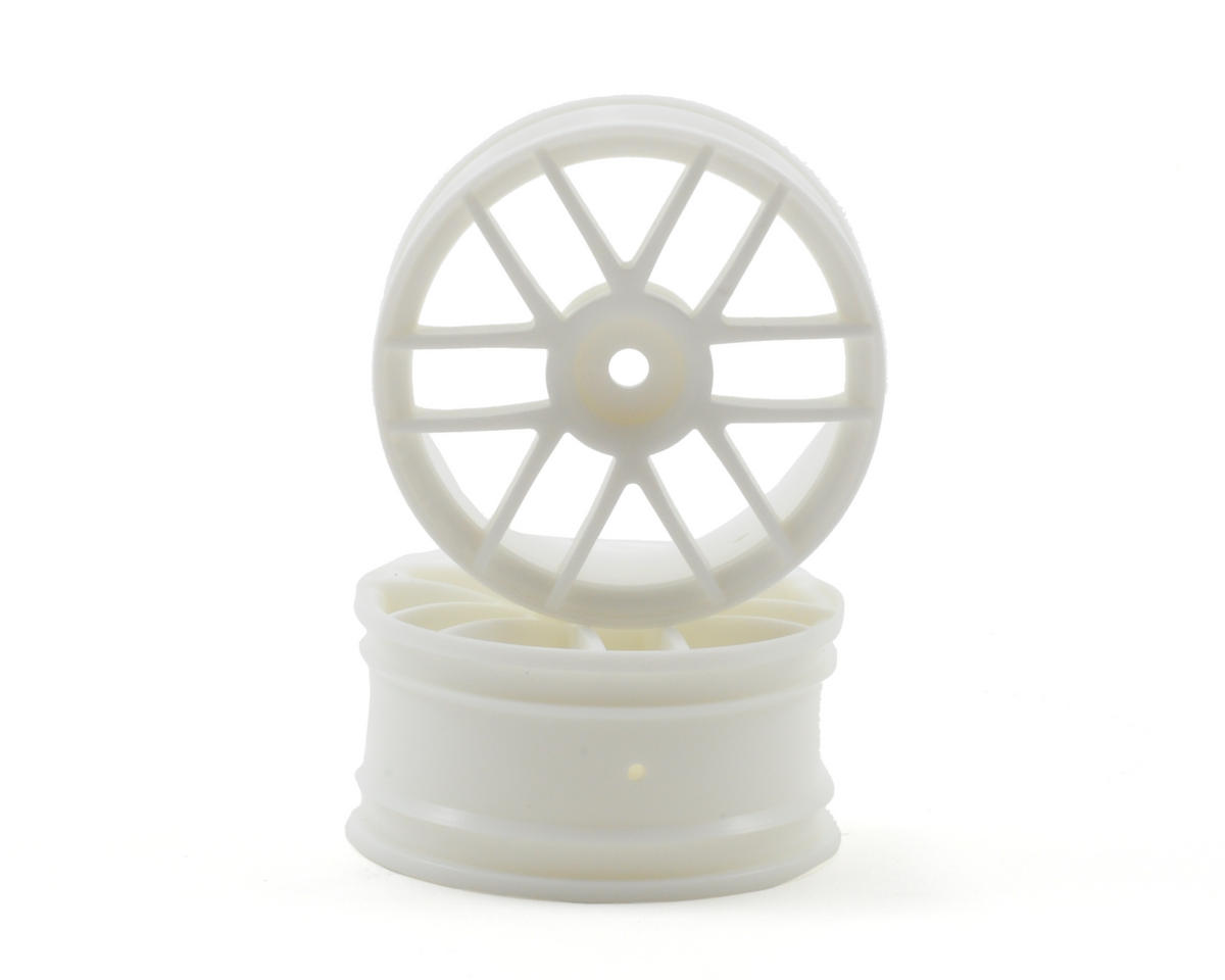 12mm Hex 26mm Split 6 Wheel (2) (White) by HPI