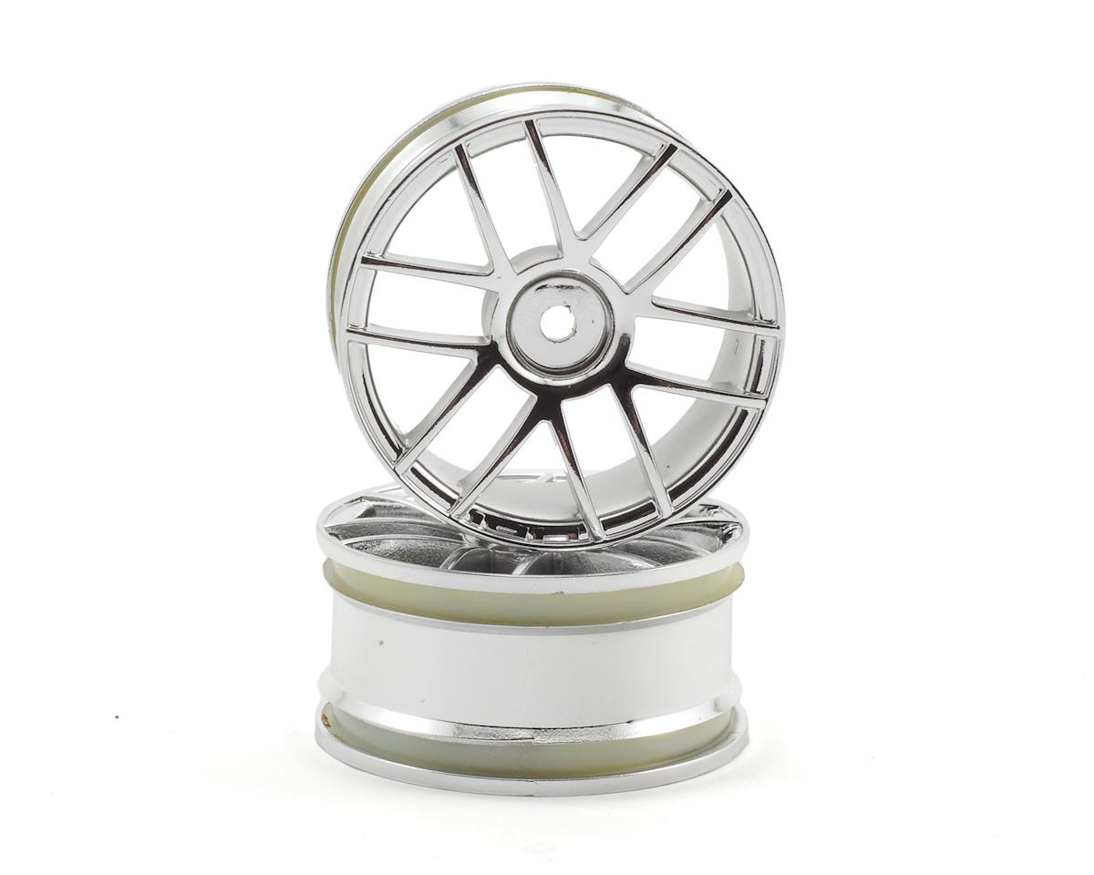 HPI 12mm Hex 26mm Split 6 Wheel (2) (Chrome)