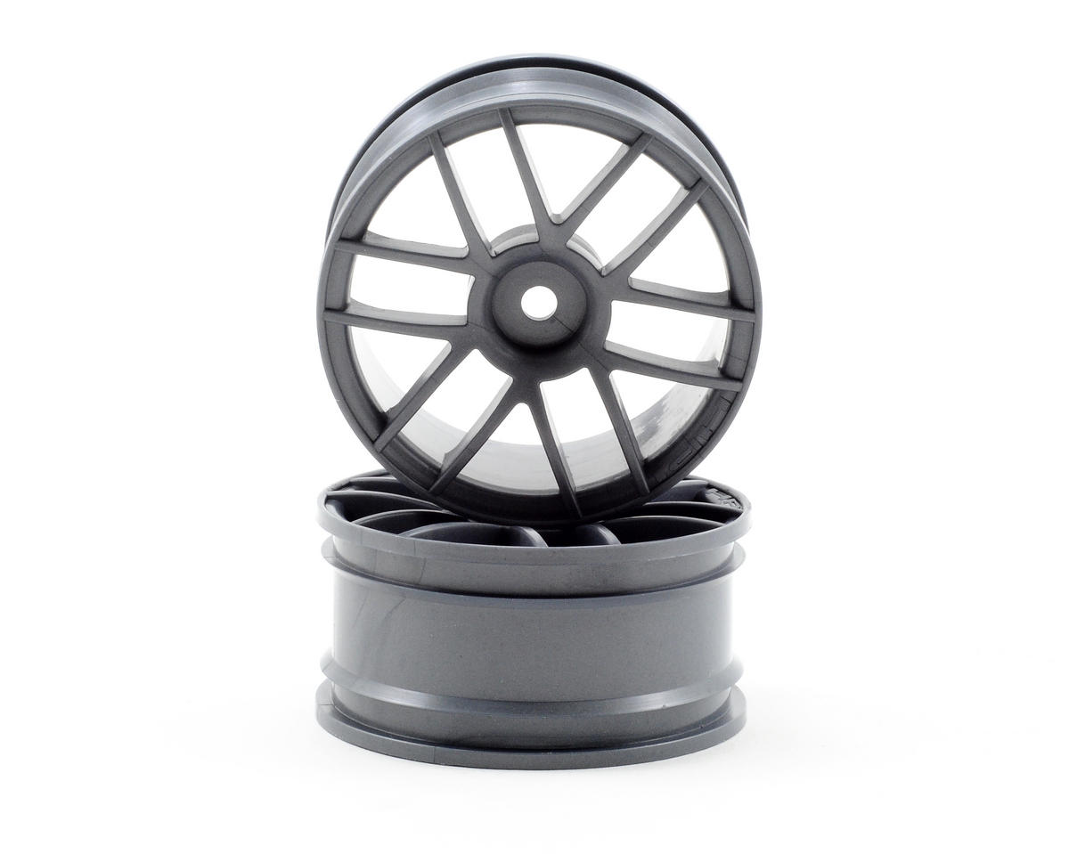 HPI Racing 26mm Split 6 Wheel (Charcoal)