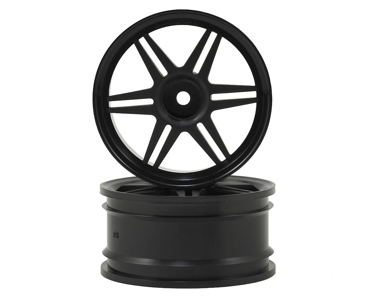 HPI 26mm Corsa Wheel (Black) (2) (3mm Offset)
