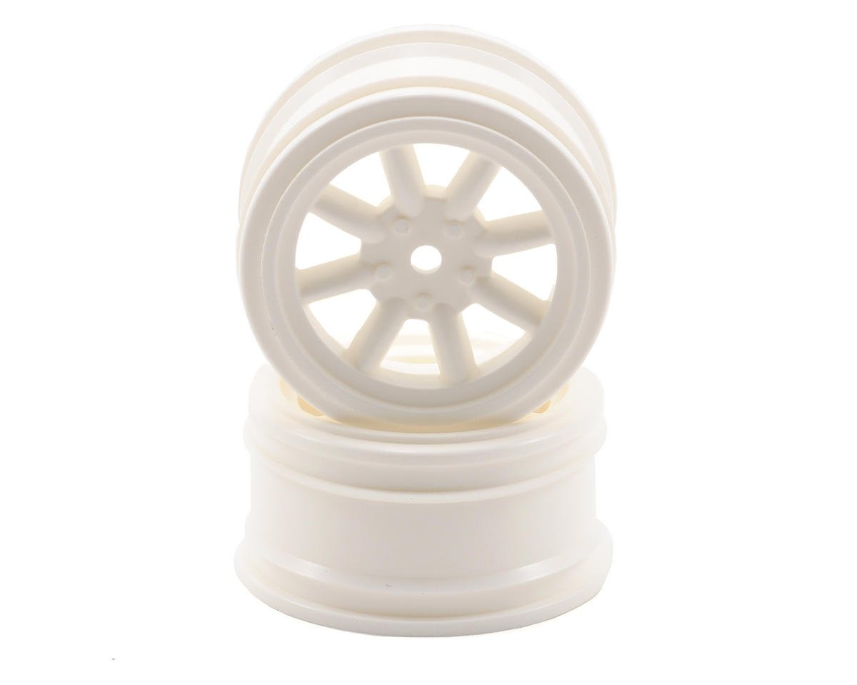 HPI Racing 12mm Hex 26mm Vintage 8 Spoke Wheel (2) (White)